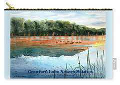 Crawford Lake Nature Estates Carry-all Pouch by LeAnne Sowa