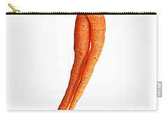 Crazy Carrot Fine Art Food Photography Carry-all Pouch by James BO  Insogna