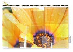 Crazy Flower Petals Carry-all Pouch by Amanda Eberly-Kudamik