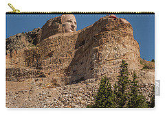 Crazy Horse Memorial Carry-all Pouch by Brenda Jacobs