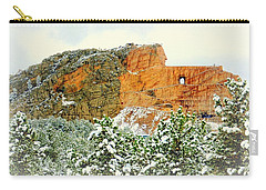 Crazy Horse Memorial In The Snow Carry-all Pouch