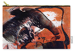 Crazy Mouse - Modern Abstract Art Painting Carry-all Pouch