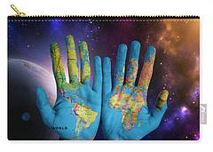 Created By God's Own Hands Carry-all Pouch