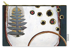 Carry-all Pouch featuring the painting Creation by Michal Mitak Mahgerefteh