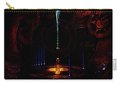 Carry-all Pouch featuring the digital art Creation Of Time by Doug Schramm