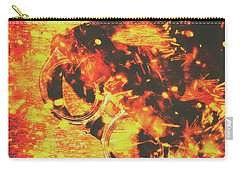 Creative Industrial Flames Carry-all Pouch