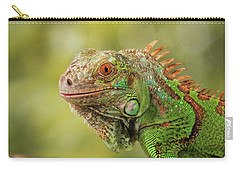 Creature On A Branch Carry-all Pouch by Stephan Grixti