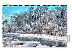 Credit River At Winter Carry-all Pouch