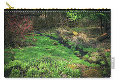 Creek - Spring At Retzer Nature Center Carry-all Pouch by Jennifer Rondinelli Reilly - Fine Art Photography