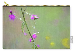 Creeping Thistle Carry-all Pouch