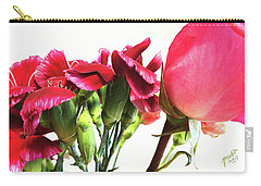 Creepy-red Flowers Carry-all Pouch