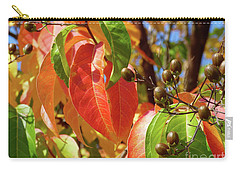 Crepe Myrtle Autumn Color Carry-all Pouch