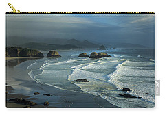 Crescent Beach And Surf Carry-all Pouch