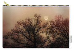 Crescent Between The Trees Carry-all Pouch