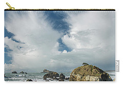 Crescent City Coast And Clouds Carry-all Pouch