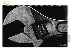 Carry-all Pouch featuring the photograph Adjustable by Douglas Stucky