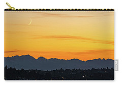 Crescent Moon Sunset Carry-all Pouch