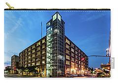 Carry-all Pouch featuring the photograph Cressman Center by Randy Scherkenbach