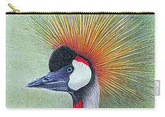 Crested Crane Carry-all Pouch