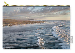 Carry-all Pouch featuring the photograph Crests And Birds by Greg Nyquist