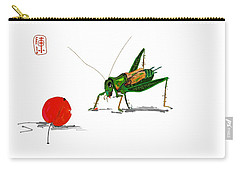 Cricket  Joy With Cherry Carry-all Pouch