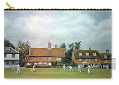 Cricket On The Green Carry-all Pouch by Rosemary Colyer
