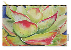 Carry-all Pouch featuring the painting Crimison Queen by Mary Haley-Rocks