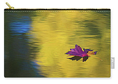 Carry-all Pouch featuring the photograph Crimson And Gold by Steve Stuller
