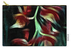 Crimson Flow Carry-all Pouch by Kathie Chicoine