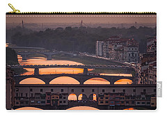 Crimson River Carry-all Pouch by Giuseppe Torre