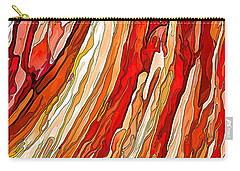 Crimson Tide Carry-all Pouch by ABeautifulSky Photography