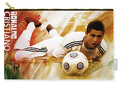 Cristiano Ronaldo 092f Carry-all Pouch by Gull G