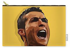 Cristiano Ronaldo Cr7 Carry-all Pouch by Semih Yurdabak