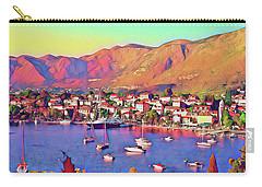 Croatia Coastal Living Carry-all Pouch