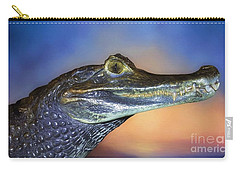 Crocodile Smile Carry-all Pouch by Suzanne Handel
