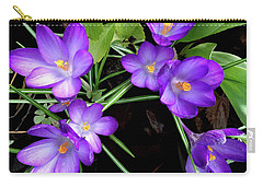 Crocus First To Bloom Carry-all Pouch