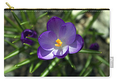 Crocus In Bloom #1 Carry-all Pouch