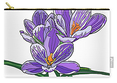Crocus Carry-all Pouch