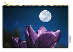 Crocus Moon Carry-all Pouch