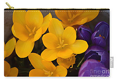 Crocus Tommasinianus Carry-all Pouch