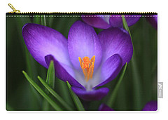 Crocus Vividus Carry-all Pouch