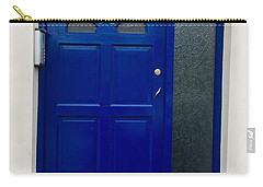 Crooked Blue Door In  Ireland  Carry-all Pouch