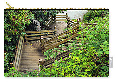 Crooked Stairs Carry-all Pouch