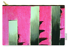 Carry-all Pouch featuring the painting Crooked Steps by Everette McMahan jr
