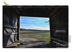 Carry-all Pouch featuring the photograph Crooks Bridge by Joanne Coyle