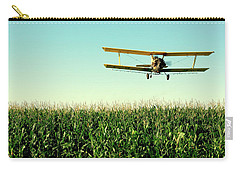 Crops Dusted Carry-all Pouch by Todd Klassy