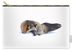 Cross Fox Carry-all Pouch by Steve McKinzie