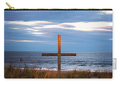 Cross Light Square Carry-all Pouch by Terry DeLuco