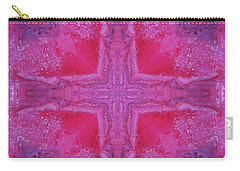 Cross Of Love Carry-all Pouch by Maria Watt