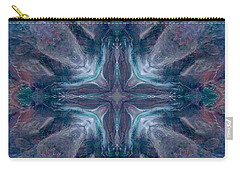 Cross Of Mentors Carry-all Pouch by Maria Watt